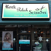 Rock Polish Scissors Hair And Nail Studio