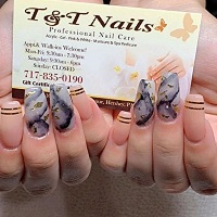 TAndT Nails Spa Pedicure